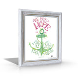Hebrews 6:19 Framed Canvas