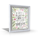 Jeremiah 29:11 Framed Canvas