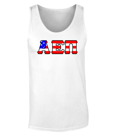 Alpha Epsilon Pi American Flag Tank Top