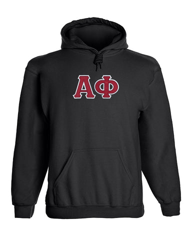 Alpha Phi Twill Letter Hoody