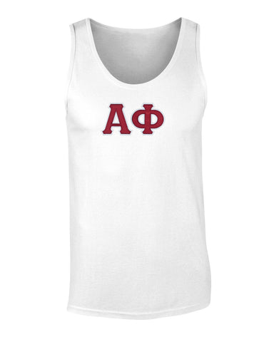 Alpha Phi Twill Letter Tank