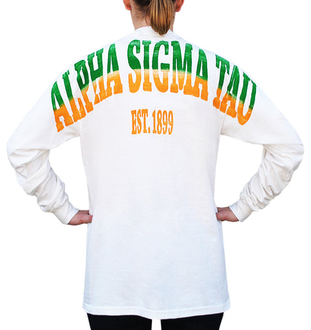 Alpha Sigma Tau Color Series Stadium Jersey