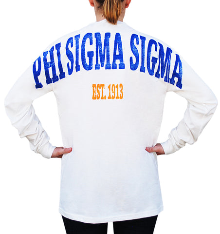 Phi Sigma Sigma Color Series Stadium Jersey
