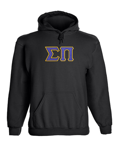 Sigma Pi Twill Letter Hoody