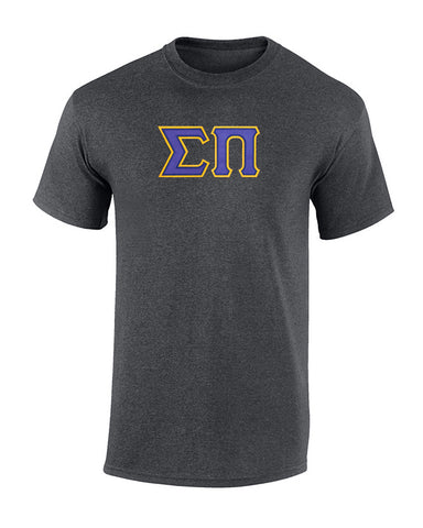 Sigma Pi Twill Letter Tee