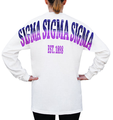 Sigma Sigma Sigma Color Series Stadium Jersey