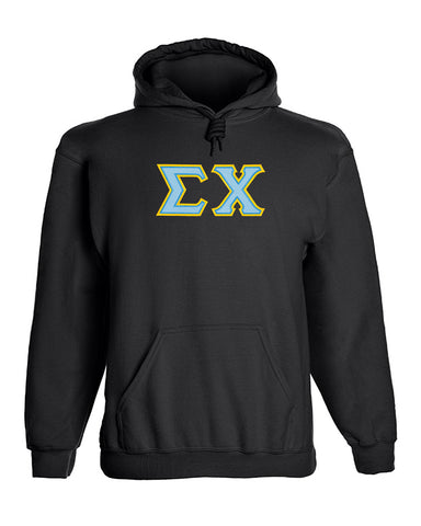 Sigma Chi Twill Letter Hoody