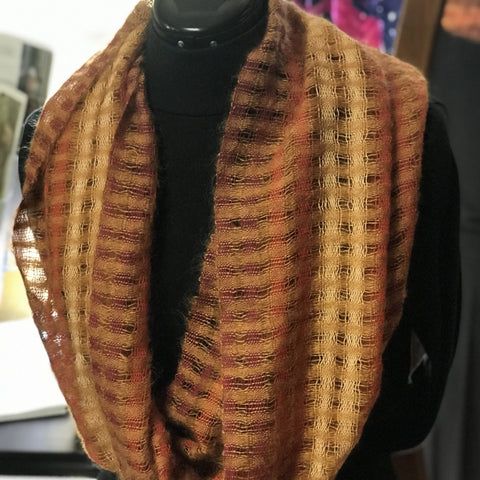 Light As Air Mobius Scarf