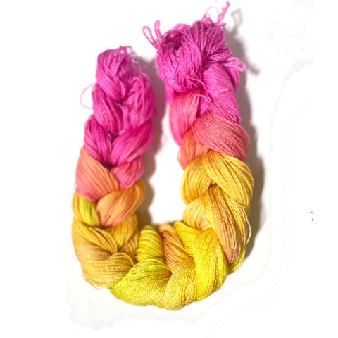 Hand Painted Warps - 6/2 Tencel - FiberObsessions