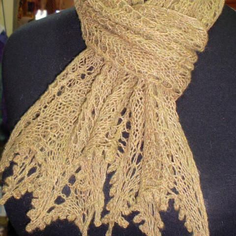 Catalan Scarf and Shawl - Printed Pattern