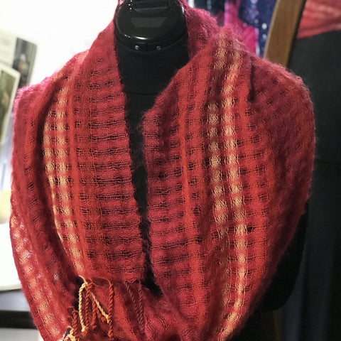 Light As Air Mobius Tied Scarf