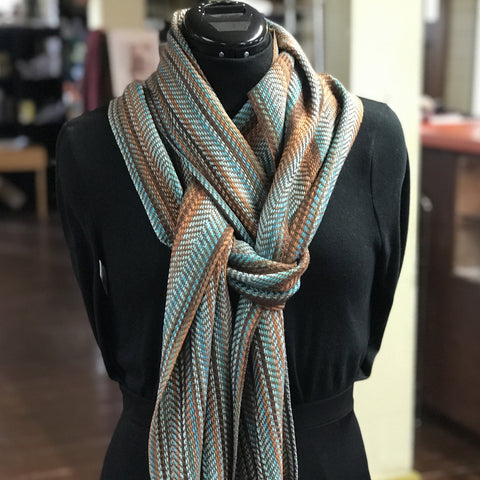 Autumn Wind Scarf - Digital Download - Yarnorama