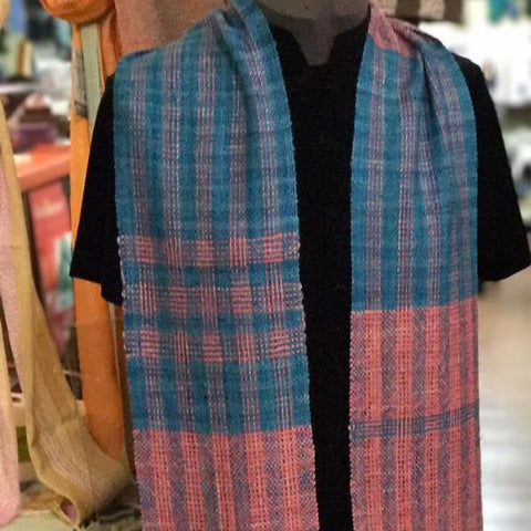 Modern Color-and-Weave Scarf