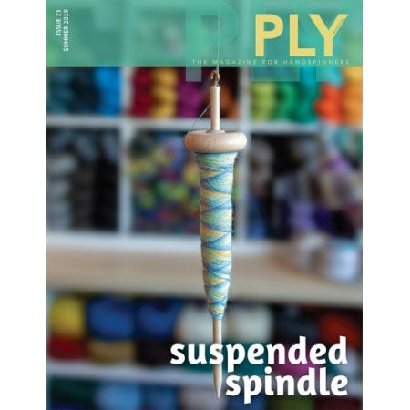 Ply  Magazine - Suspended Spindle