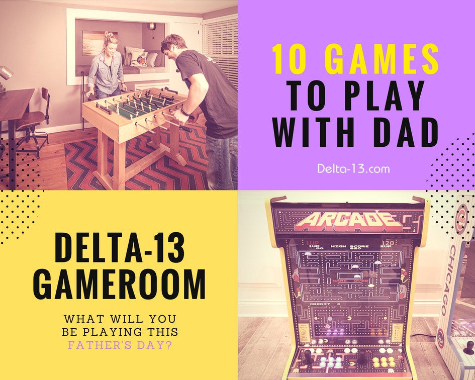10 Games You Can Play With Dad On Father's Day