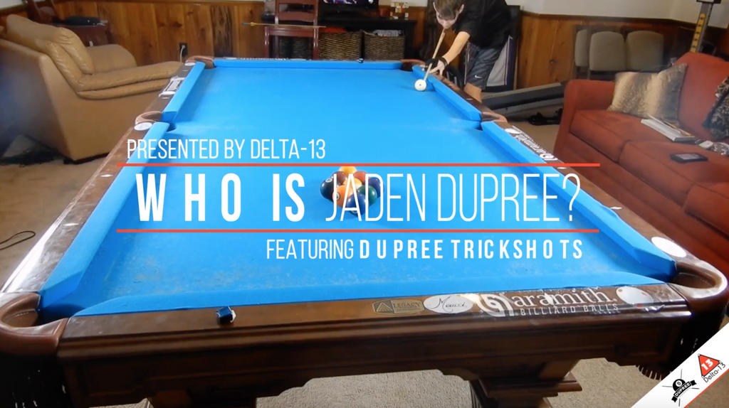 Delta-13 & Dupree Trickshots Video Series: Who is Jaden Dupree?