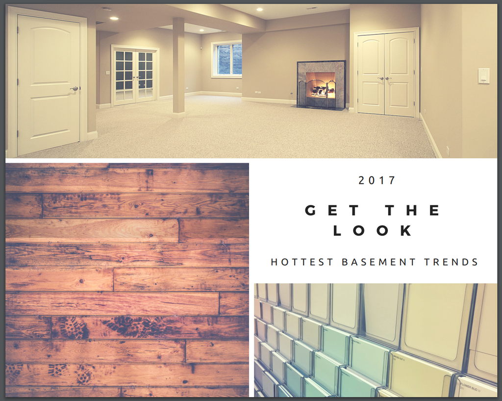 Get the Look: Hottest Basement Trends for 2017