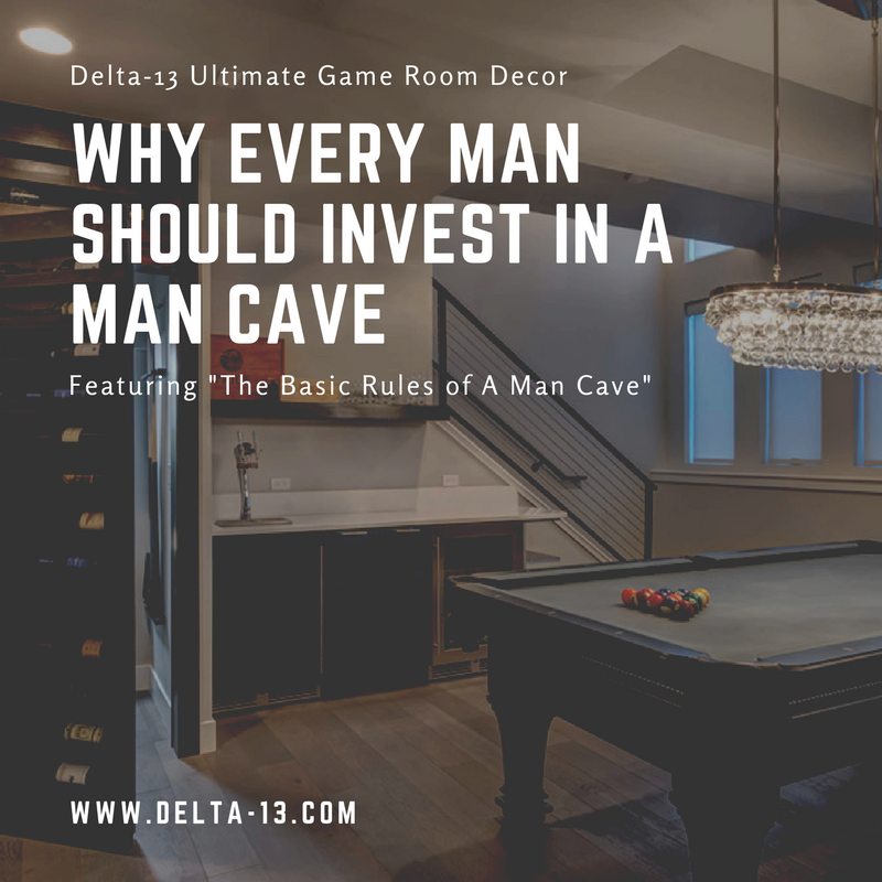 Why Every Man Should Invest In A Man Cave