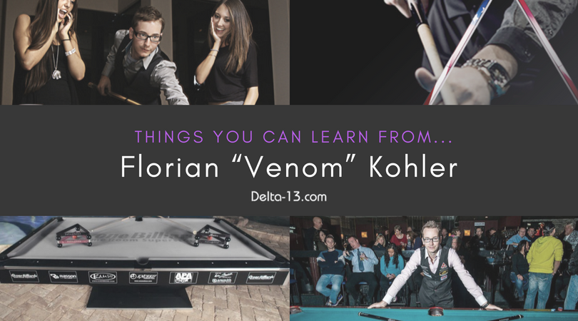 "Things You Can Learn From... Florian ""Venom"" Kohler, the World Renowned Trick Shot Artist"