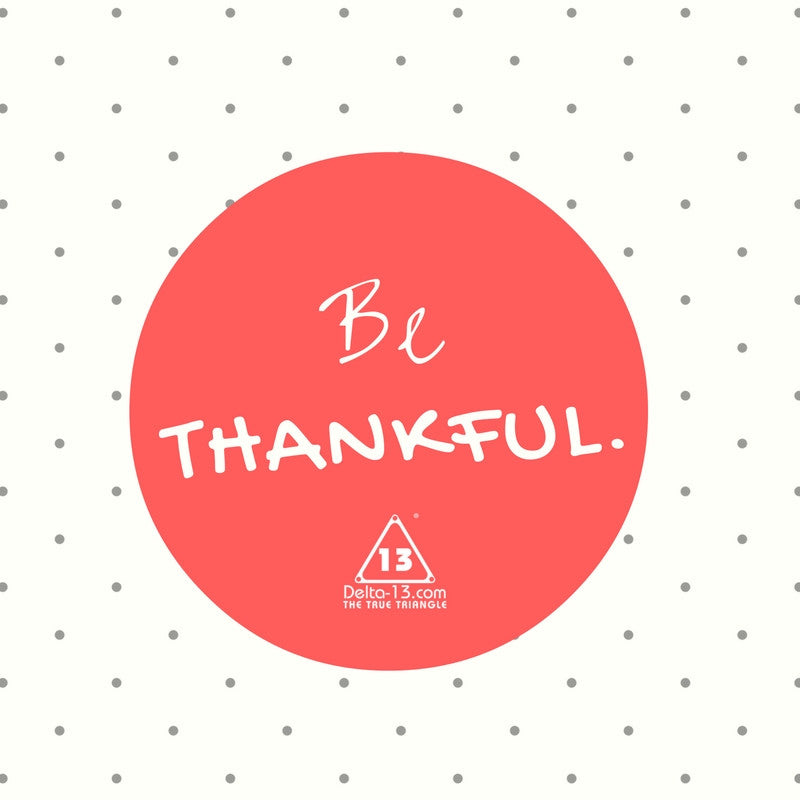 13 Reasons To Be Thankful