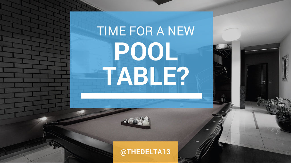Time For a New Pool Table? How to Find It and Set it Up