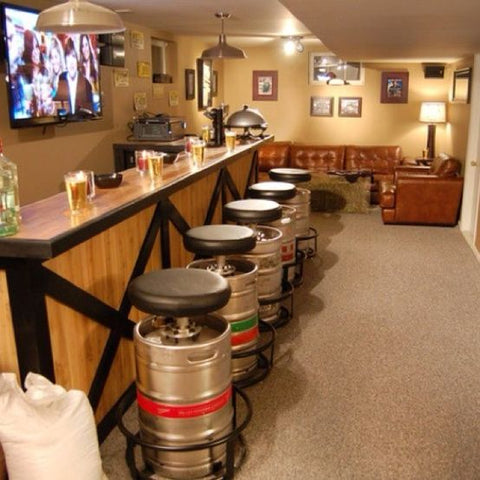 Beer Keg Seating