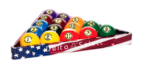Delta-13 Patriotic Rack for your game room pool table