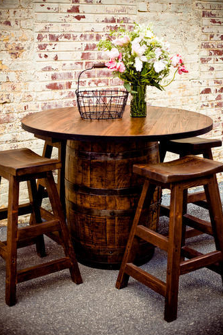 Barrel Pub Table- Rec Room