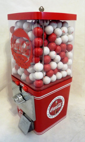 Coca Cola Gumball Machine - Man Cave