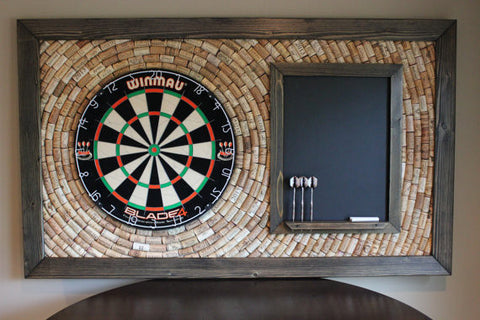 Cork Dart Board- Game Room