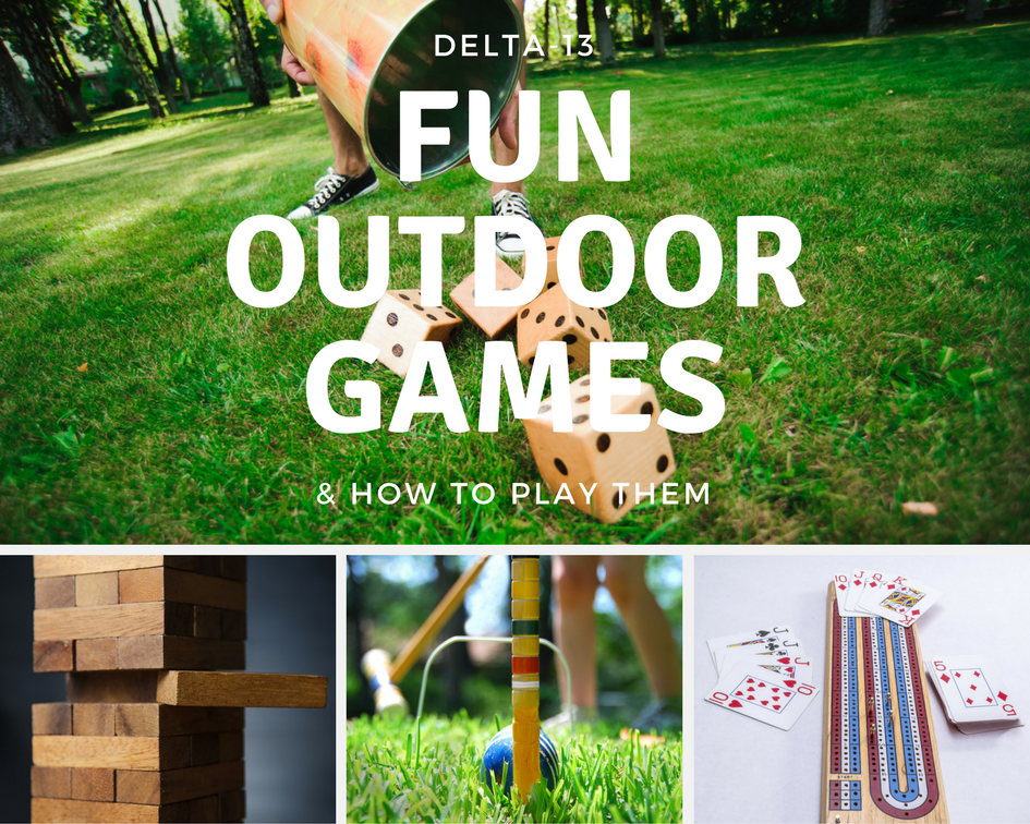 fun outdoor games and how to play them