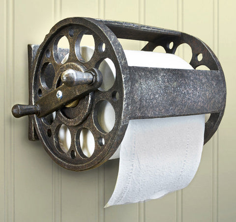 Fishing Reel Toilet Paper Holder- Cool Products