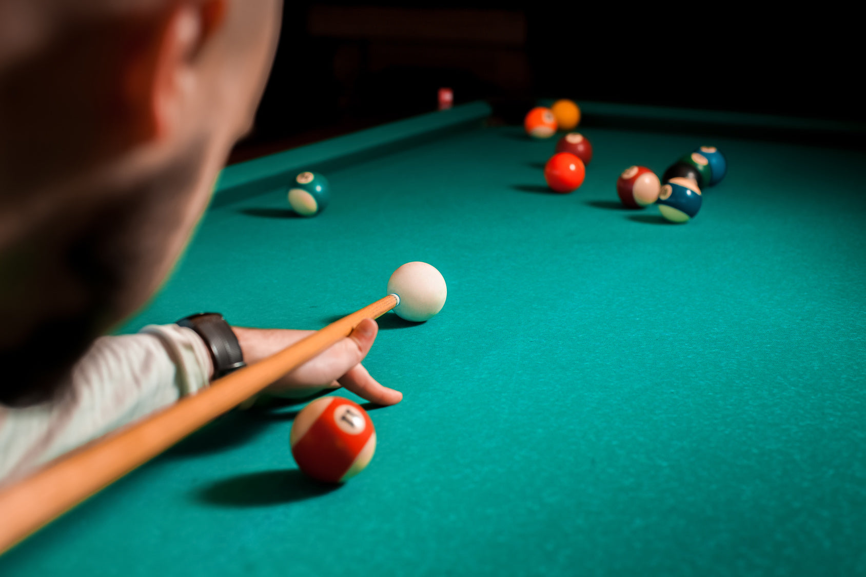 Playing Pool 365 Days a Year