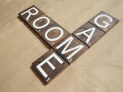 Game Room Wood Lettering