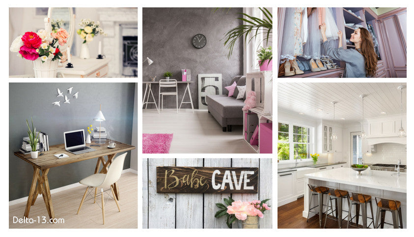What Makes A Girl Cave She Shed Or A Babe Cave Delta 13