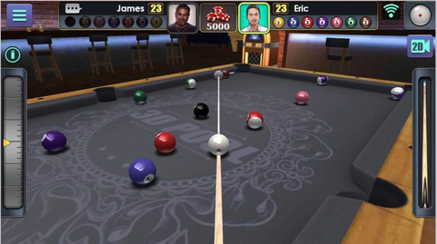 3D Pool Ball Application