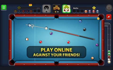 8-Ball Pool Application