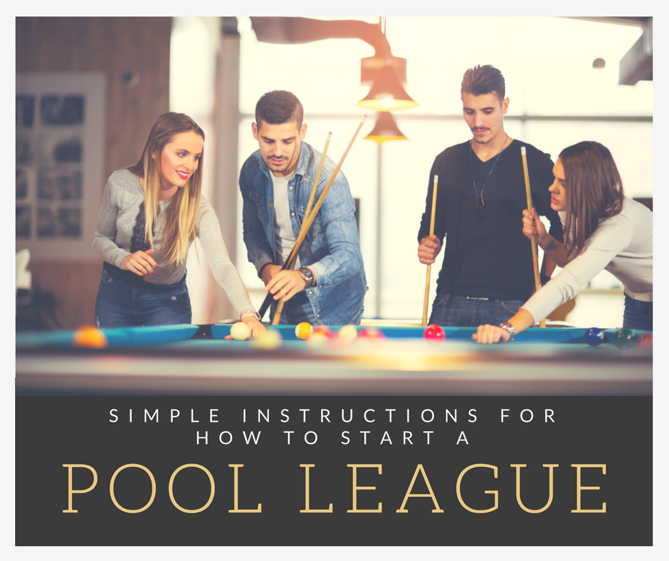 How to start a pool league