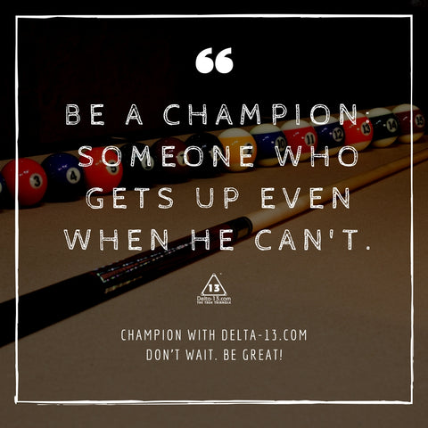 inspirational quotes for billiard players delta