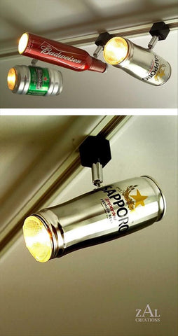 Beer Can Lights