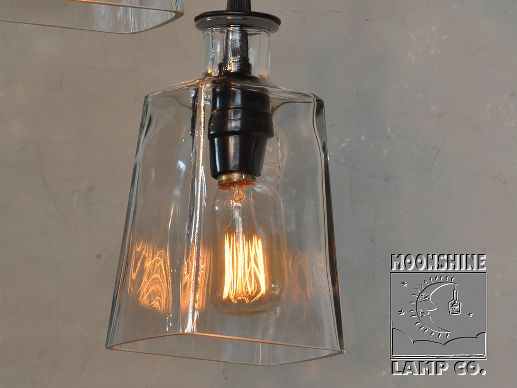 Moonshine Lamp: 1800 Tequilla Chandelier