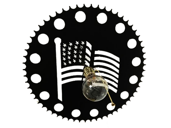 Wow Factor Lighting: American Flag Beer Bottle Light