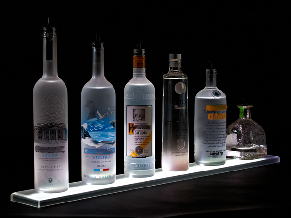 Armana Productions: Illuminated LED Bottle Display