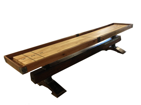 Industrial Farmhouse: Artisan Shuffleboard Table