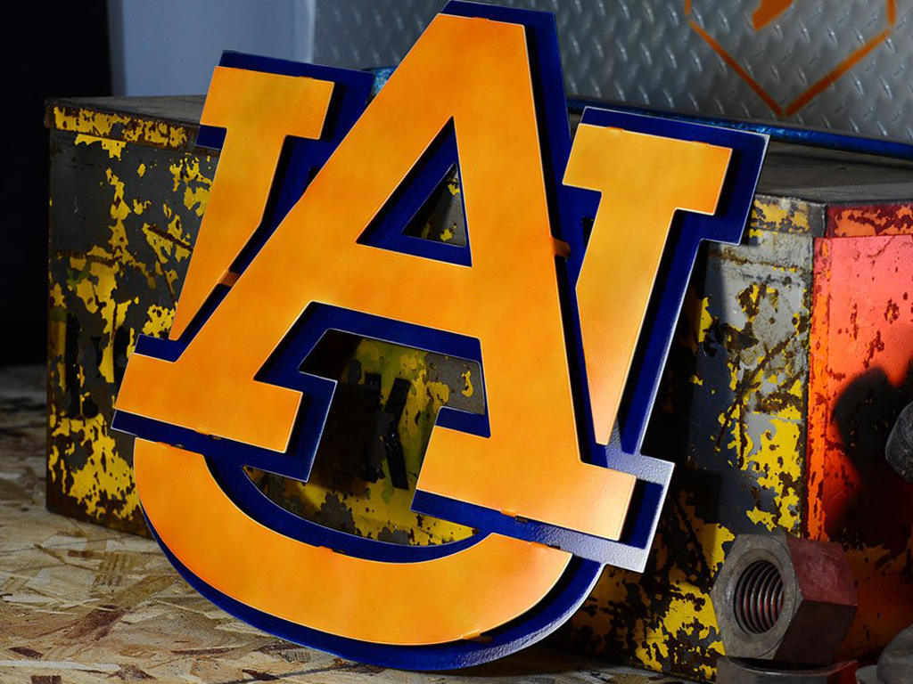 Hex Head: Auburn University Letters
