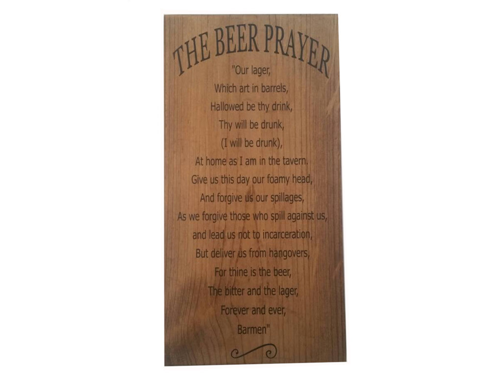 The Beer Prayer