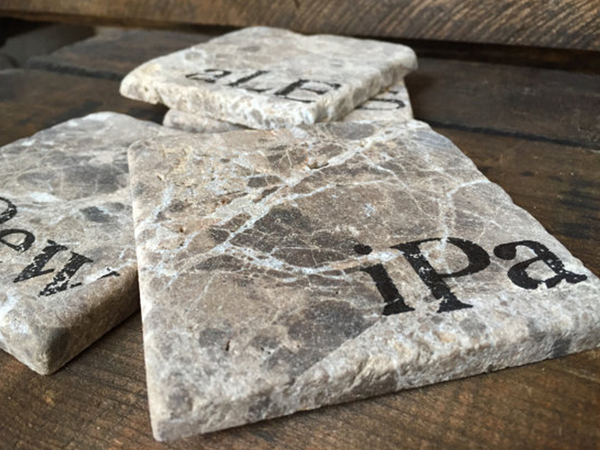 Little Fish Place: Stone Beer Coasters