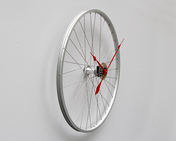 Bike Wheel Clock