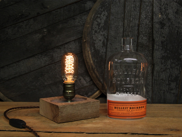 ReWicked Candle: Bulleit Edison Desk Lamp