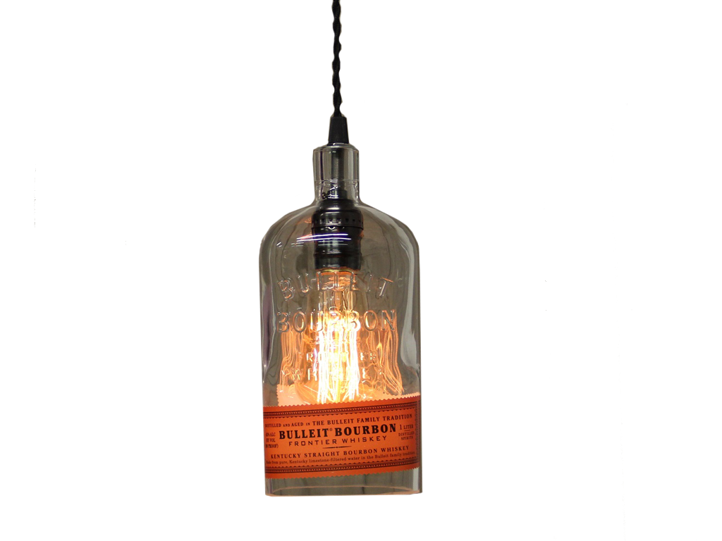 Bulleit Bottle Pendant Light